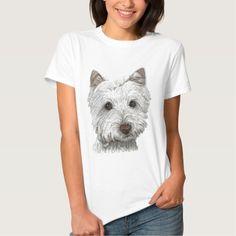 Westie dog t shirt