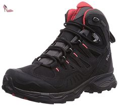 Salomon  Conquest GTX, Bottines de randonnée femmes, Noir (Black), 42 2/3 EU - Chaussures salomon (*Partner-Link)