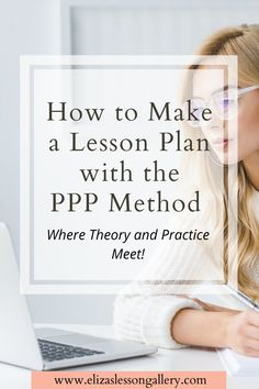 Find out how to plan your lessons using the Present, Practice, Produce method. A step-by-step breakdown of how to apply PPP to your lesson plan. Free Lesson Planning resource included!!! English Language Learners, Foreign Language, English Vocabulary, Teaching Skills, Teaching Methods, Teaching English, Learn English, Esl Resources, Esl Lessons