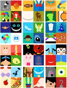 Disney minimalist posters. Love the Lilo and Stitch
