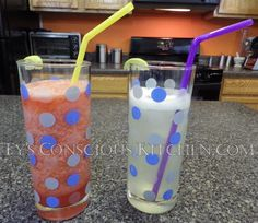 Dr. Sebi Alkaline Electric Limeade & Strawberry Limeade by Ty's Conscious…