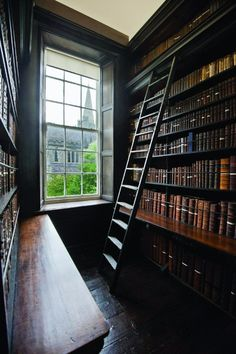 trendy home library room awesome house Home Library Rooms, Home Libraries, Closet Library, Public Libraries, Beautiful Library, Dream Library, Trendy Home, Book Nooks, Reading Nooks