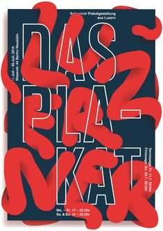 30 affiches avec un travail typographique original - Inspiration graphique #12