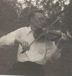 Weegee Original Photograph The Violinist ...Reinhard Goebel