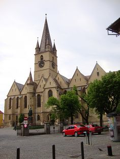 Lutheran Cathedral of Saint Mary (Sibiu, Romania) Sibiu Romania, Romania Bucharest, Cathedral Basilica, Europe, Lutheran, Bulgaria, Homeland, Continents, Hungary