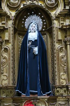 """Our Lady told Mother Mariana in Quito Ecuador in the late 16th century that the devotion to our Lady of Good Success would be a special Consolation for """"…above all those at the end of the 20th century, who would be the favored of His Heart, for in that period Hell would be unleashed and many souls would be lost."""" Propagate this devotion more! Our Lady promised great graces for those who promote devotion to her as Our Lady of Good Success…"""