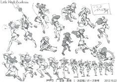 """""""Little Witch Academia (リトルウィッチアカデミア)""""   © Trigger Inc.*  • Blog/Website   (http://www.st-trigger.co.jp/) ★    CHARACTER DESIGN REFERENCES™ (https://www.facebook.com/CharacterDesignReferences & https://www.pinterest.com/characterdesigh) • Love Character Design? Join the #CDChallenge (link→ https://www.facebook.com/groups/CharacterDesignChallenge) Share your unique vision of a theme, promote your art in a community of over 50.000 artists!    ★"""