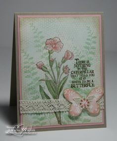 Vintage Butterfly Basics by Crazy4Stampin - Cards and Paper Crafts at Splitcoaststampers