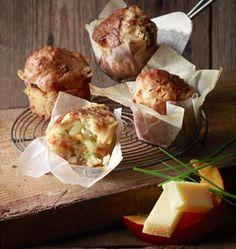 Muffins au potimarron et Beaufort, la recette d'Ôdélices : retrouvez les ingrédients, la préparation, des recettes similaires et des photos qui donnent envie !
