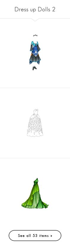 """""""Dress up Dolls 2"""" by kattahanna ❤ liked on Polyvore featuring paper doll, dresses, drawings, backgrounds, gowns, vestidos, paperdolls, desenhos, sketches and paper dolls"""