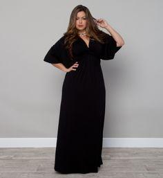 Plus Size Charlize Maxi Dress Plus Size Fashion at www.curvaliciousclothes.com Sizes 10-32 #plussize #bbw #curvy #fashion