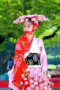 Japan Fest 2012 -kimono girl dancer