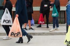 PopTech by Collins. #branding #design #bags