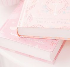 Two of my favorite books in pink! Baby Pink Aesthetic, Peach Aesthetic, Princess Aesthetic, Book Aesthetic, Aesthetic Pictures, Aesthetic Backgrounds, Aesthetic Wallpapers, Tout Rose, Pink Themes