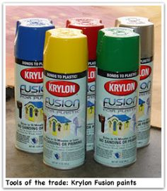 Everyday Blessings: Little Tikes Play House Makeover and add canvas top to house Painting Pvc Pipe, Pvc Paint, Painting Tips, Paint Plastic, Plastic Garden Furniture, Pvc Furniture, Painting Plastic Furniture, Pvc Pipe Crafts, Pvc Pipe Projects