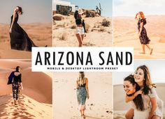 Arizona Sand Lightroom Preset will help you add modern contrast, bright colors, sandy and natural tone to your photos in a few clicks! Photoshop Presets Free, Professional Lightroom Presets, Adobe Photoshop Lightroom, Camera Raw, Street Photography, Filters, Arizona, Desktop, Behance