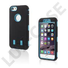 Boberg (Black / Blue) iPhone 6 Cover