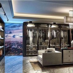 Mr & Mrs Goodlife ideal penthouse interior and wardrobe! • Tag someone!