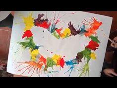 Pintar soplando - YouTube