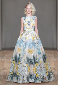 Jenny Packham at New York Fashion Week Spring 2015