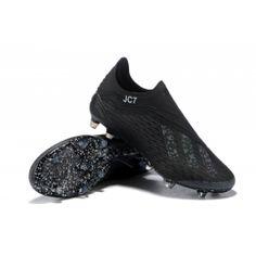 AD X 18+ FG Soccer Cleats-All Black