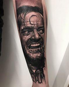 Tattoo artist Anrijs Straume authors Dark Trash Realism tattoo