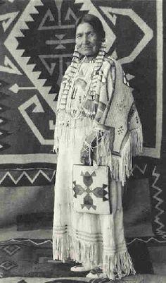 Julia Wades In Water - Blackfeet (Pikuni) - no date Look at the beautiful work…