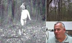 Creepy photo of 'ghost girl' caught on remote trail camera