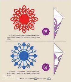 8款漂亮的剪纸图案手工DIY教程 - 学堂 - 手艺门