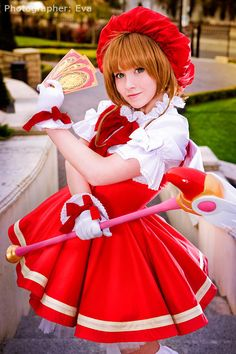 "Sakura cosplay by Koosh, from ""Cardcaptor Sakura"""