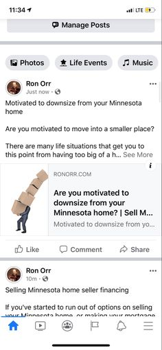 Motivated to downsize from your Minnesota home  Are you motivated to move into a smaller place?  There are many life situations that get you to this point from having too big of a home to manage.  Accumulating too much stuff. You may be ready to move into a group home, assisted living or a nursing home. You may be an empty nester. The truth is it's not worth paying for the extra space every single month if you aren't going to use it.  If you don't want to be a landlord and manage to rent out… Compound Effect, Group Home, Minnesota Home, Small Places, Assisted Living, Being A Landlord, Empty, Nursing, Motivation