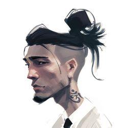 illustrations and art Digital Portrait, Portrait Art, Portrait Illustration, Character Illustration, Cartoon Styles, Cartoon Art, Character Design References, Character Art, Art Sketches
