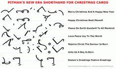 Pitman's New Era Shorthand Christmas card wordings A Christmas Story, Christmas Cards, Pitman Shorthand, Shorthand Writing, Reading Sites, Weather Vocabulary, Reading Website, Tattoo Pain Chart, Reading Practice