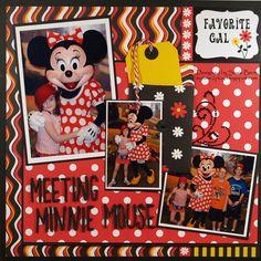 Meeting Minnie Mouse  **Moxxie** - Scrapbook.com