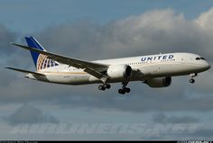 United Airlines N20904 Boeing 787-8 Dreamliner aircraft picture