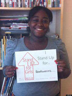 I Stand Up for Bookworms - The Huffington Post Features LitWorld Teen Intern and LitClub Member DaijaSpaulding