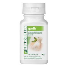 Nutrilite Garlic Powder  NUTRILITE Garlic is a food supplement with garlic powder. Garlic contributes to normal immune function, resistance against temporary stress, maintenance of heart health and the maintenance of normal cholesterol levels.  http://home-beauty.org/amway/nutrilite-garlic-powder/