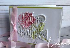Happy Birthday Thinlits, Graceful Garden Stamp Set, Stampin' Up!