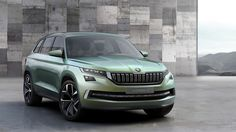 Skoda VisionS SUV Concept Revealed: Skoda revealed today their first SUV concept, which is called the VisionS. The Skoda VisionS SUV concept is going to have Vw Arteon, Volkswagen Group, Pick Up, Diesel Tuning, Automobile Magazine, 4x4, Audi, Assurance Auto, Cars