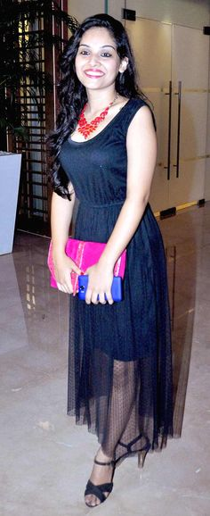 Celeb guest at the launch of 'Lai Bhari'. #Style #Bollywood #Fashion #Beauty #Marathi #Page3