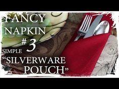 napkin folding - YouTube