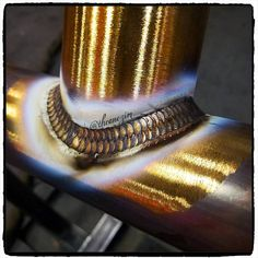 Brass to Brass  Follow us  @Welderzworld photo by @theonezim #welderzworld #weld #smaw #fabshop #tig #fab101 #fabricationlife #metalwork #welderlife #migwelding