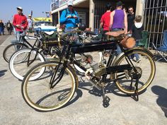 Old bike of yesteryear.