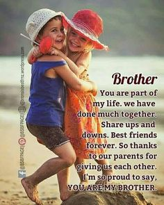 Ideas Birthday Quotes For Brother Messages Sisters For 2019 Ideas Birth. - Ideas Birthday Quotes For Brother Messages Sisters For 2019 Ideas Birthday Quotes For Brot - Happy Birthday Brother Wishes, Brother Birthday Quotes, Birthday Wishes Quotes, Happy Birthday Fun, Happy Fathers Day Brother, Husband Birthday, Funny Birthday, Birthday Ideas, Birthday Cards