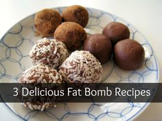 Low carb fat bomb recipes