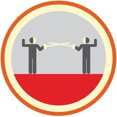 Lifescouts: Fencing Badge If you have this badge,...