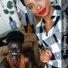 Fashion fan blog from industry supermodels: Khoudia Diop - When your selfie goes bust, but you...