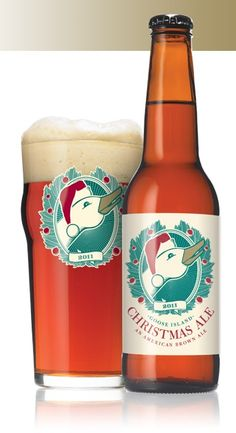 i have yet to find a christmas beer that i really love but the goose