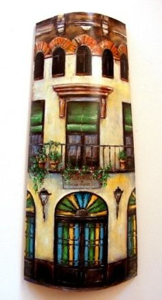 tejas pintadas a mano - Buscar con Google