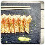 Spectacular Tataki de Salmon